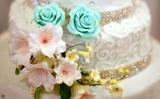 5 tier wedding cake