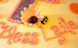 chritening cake