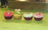 Good luck green tea cupcakes